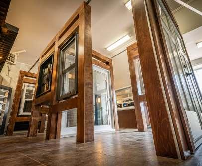 Portes et Fenêtres Vallée - Salle de montre