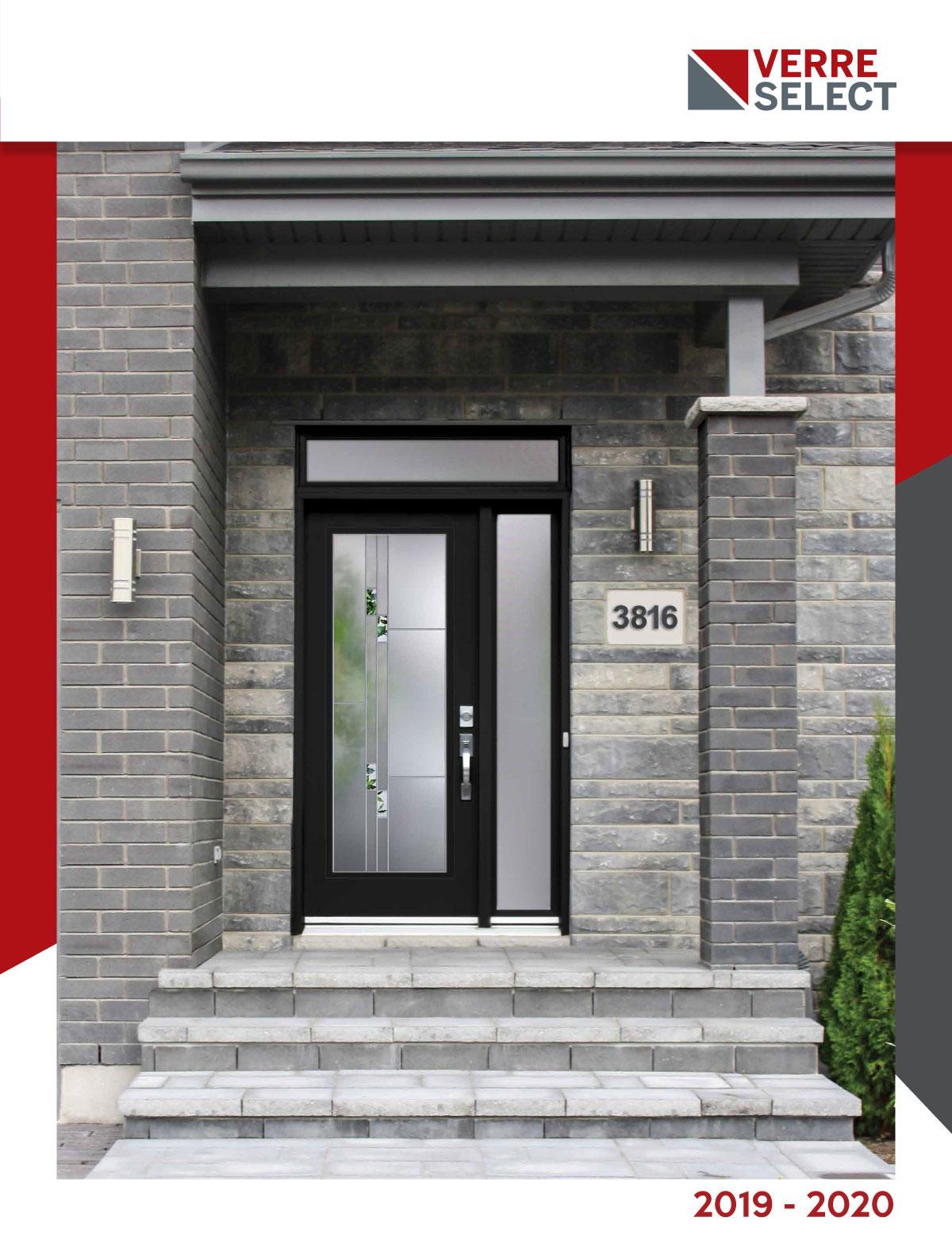 Brochure Verre Select choix de vitraux - Portes et Fenêres Vallée