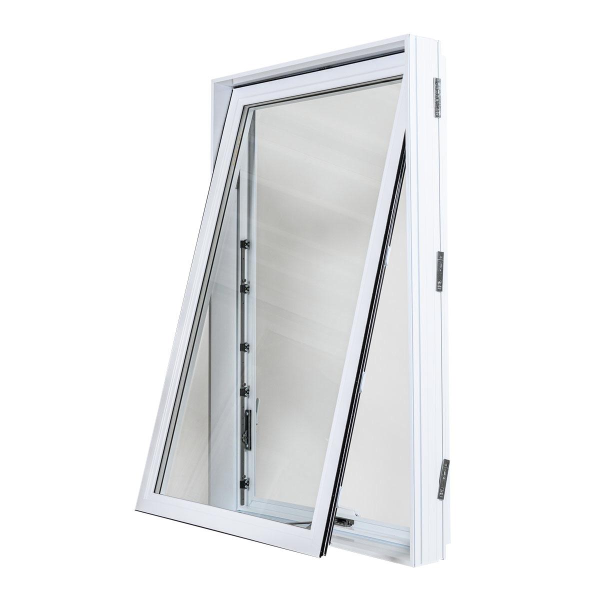 Fenêtre à auvent en PVC - Portes et Fenêtres Vallée