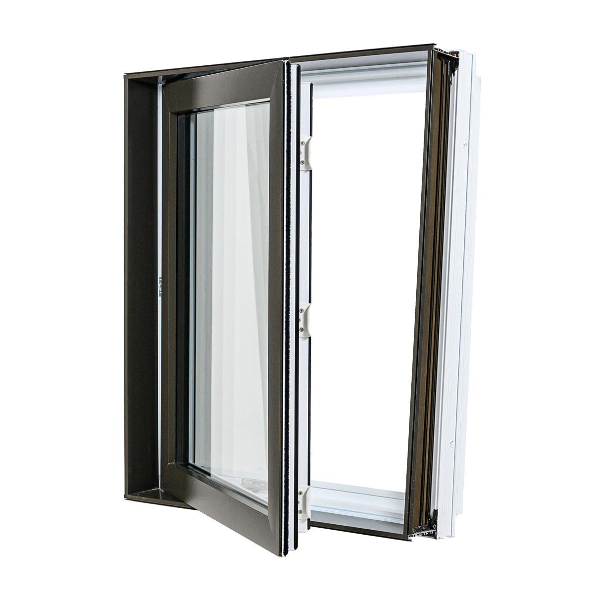 Fenêtre à battant hybrid - Portes et Fenêtres Vallée