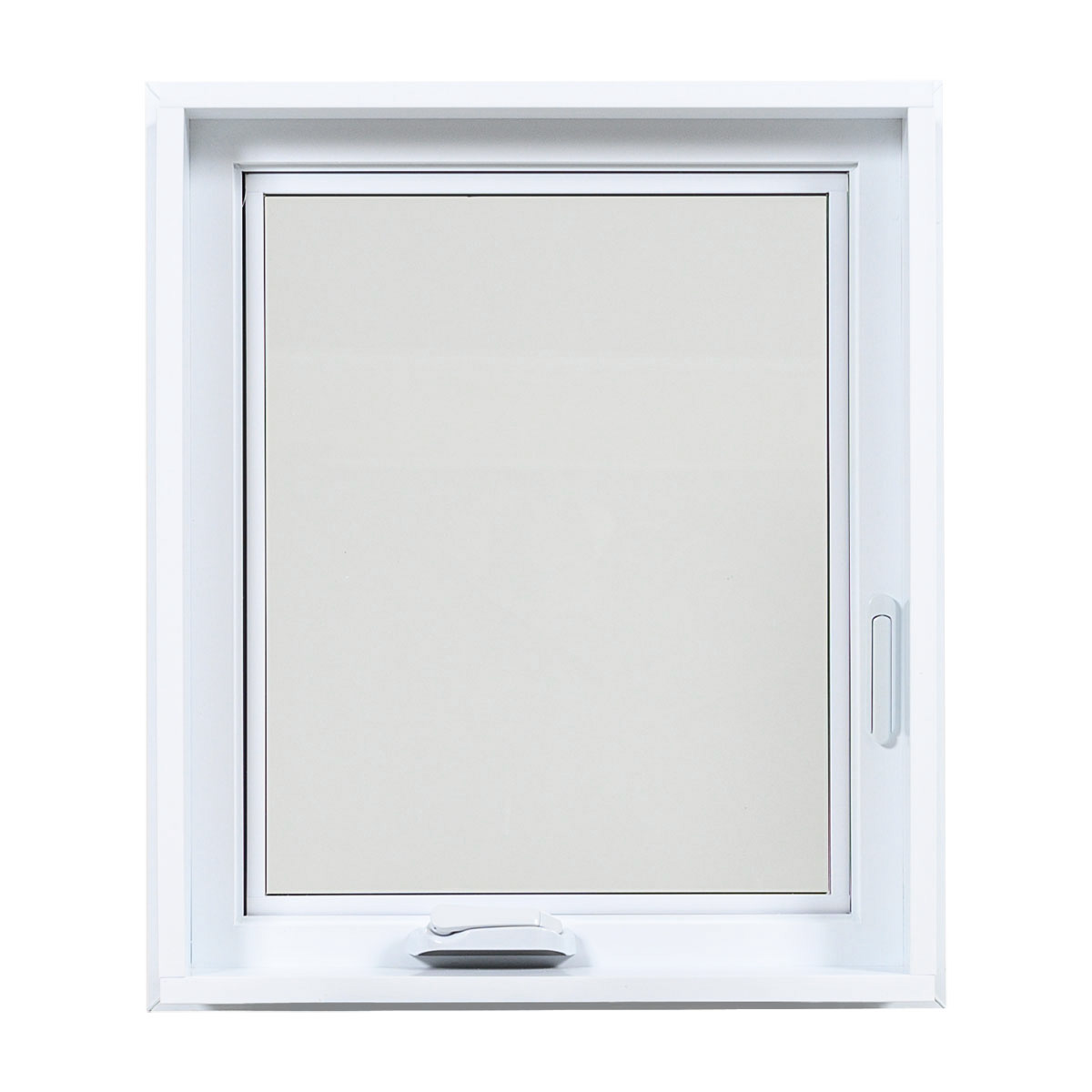 Fenêtre à battant en PVC intérieur - Portes et Fenêtres Vallée
