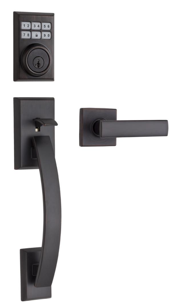 Portes et Fenêtres Vallée - Distributeur des produits Weiser - poignée Smartcode