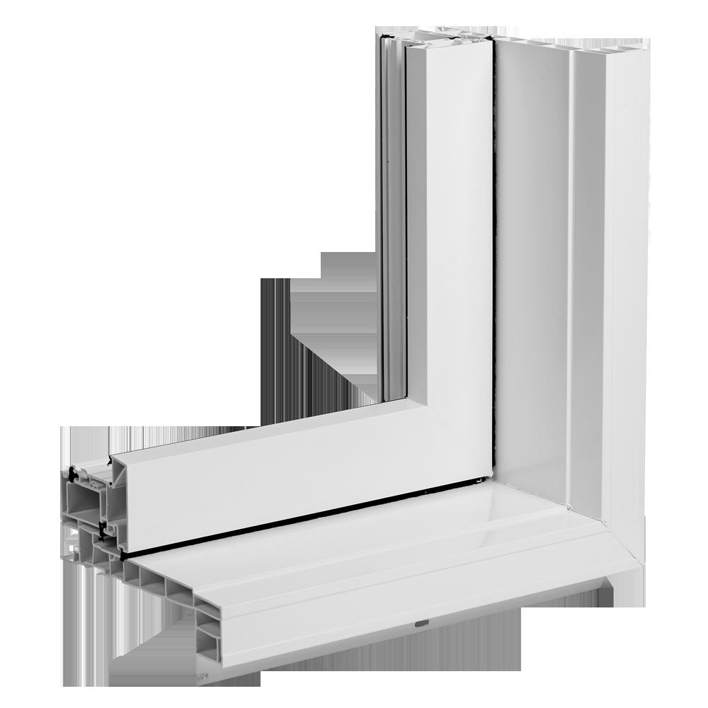 Portes et fenêtres Vallée - Cadre moulure à brique 1 1/8 po
