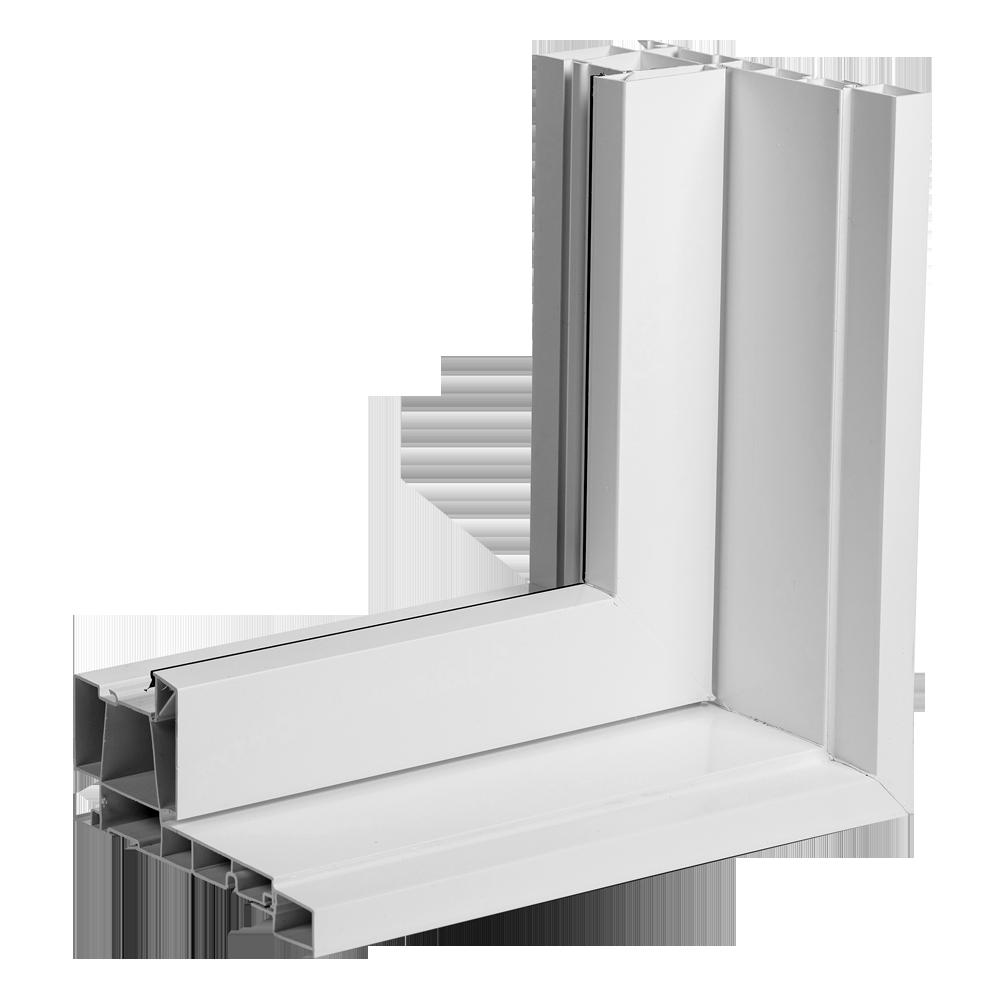 Portes et fenêtres Vallée - Cadre moulure à brique 1/2 po