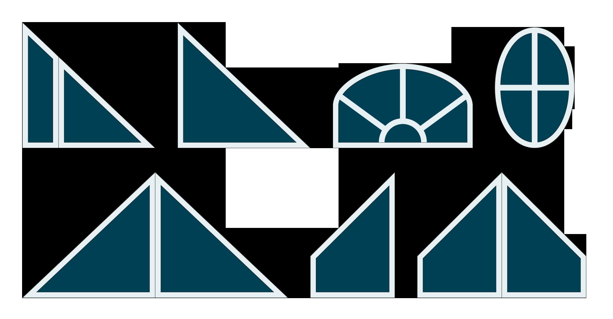 Suggestions de disposition du carrelage et des barrotins