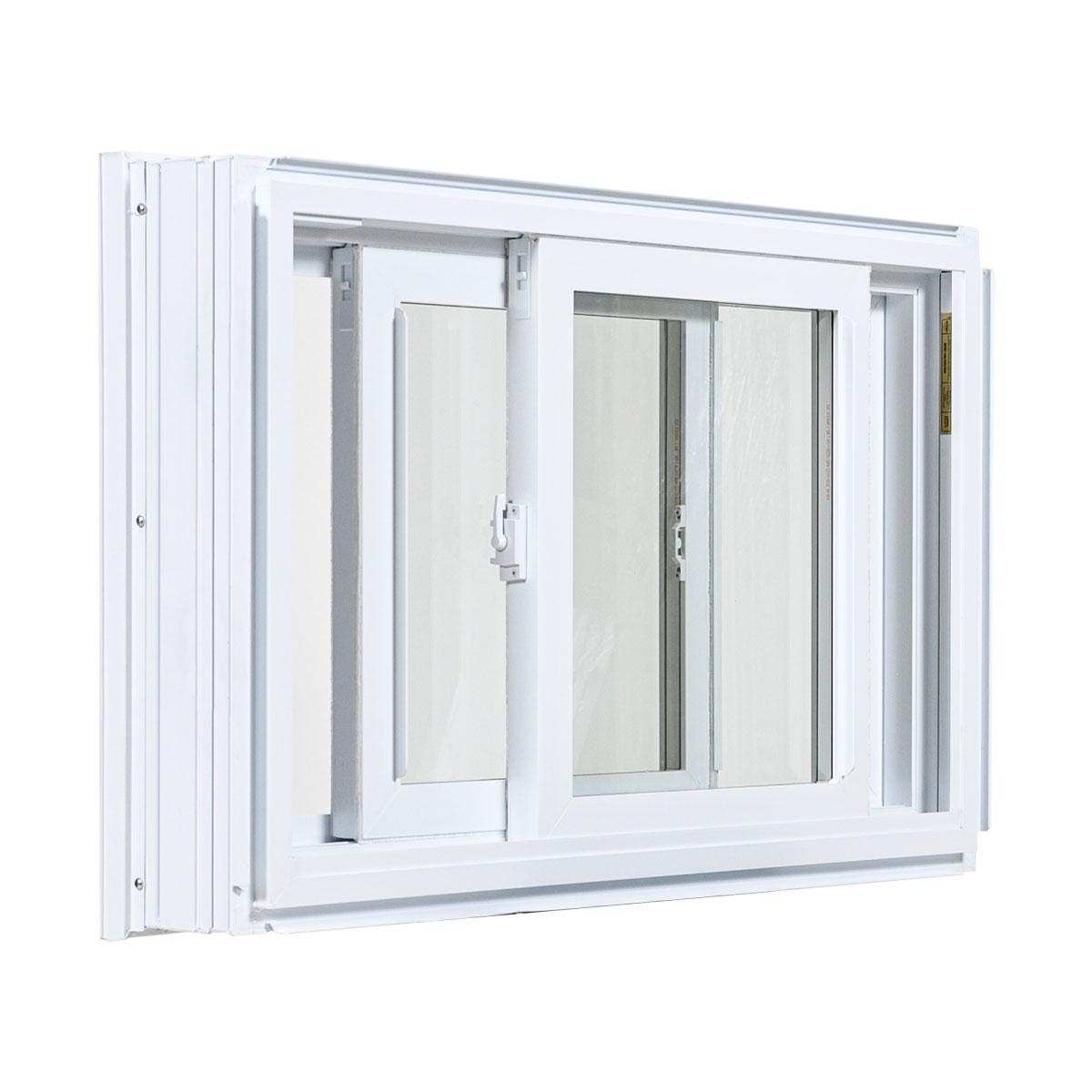 Fenêtre coulissante double - Portes et Fenêtres Vallée