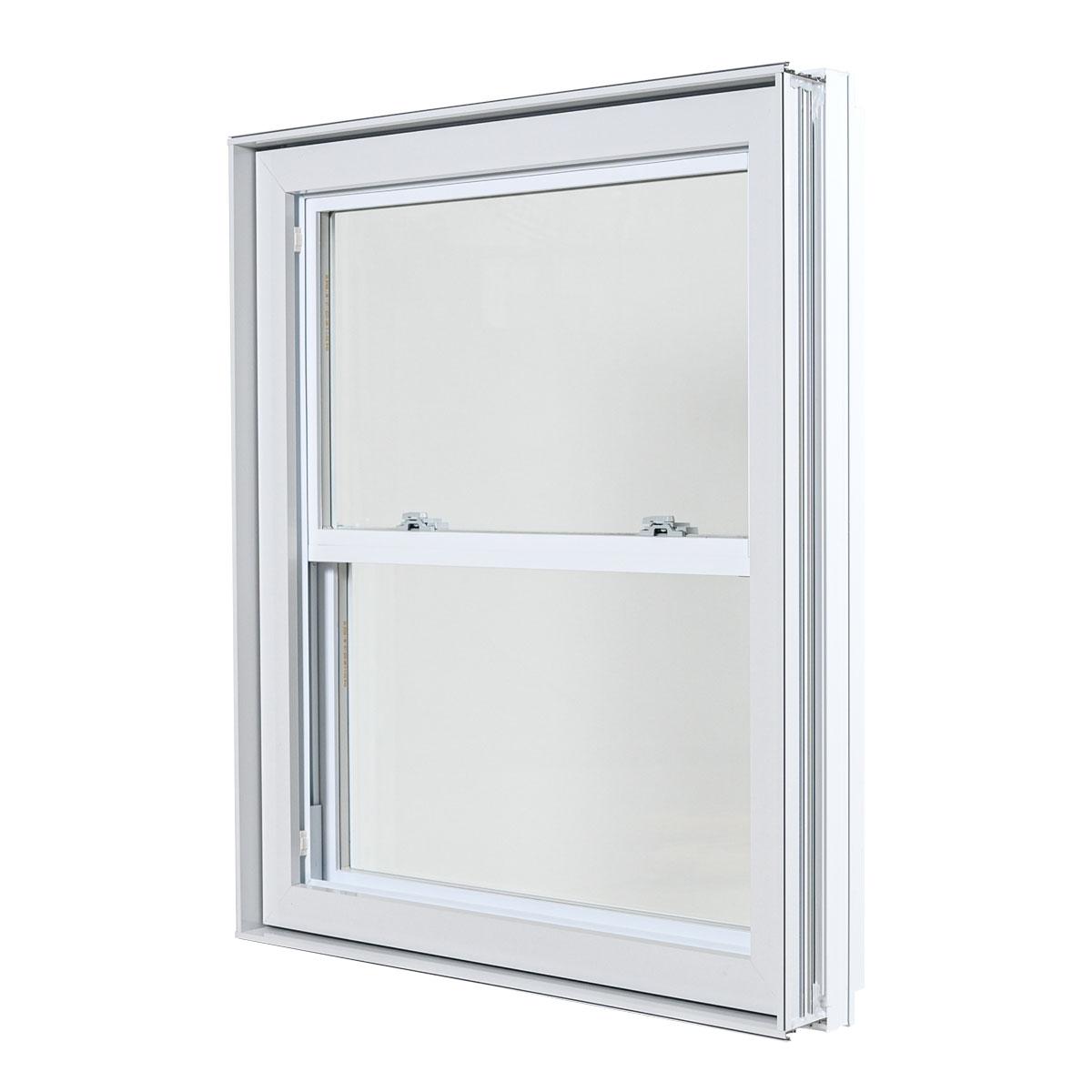 Fenêtre à guillotine hybride - Portes et Fenêtres Vallée